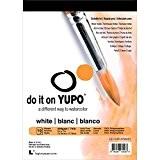 YUPO Papier YUPO 12,7cm x 17,8cm 10feuilles/Pkg-White 74lb, d'autres, multicolore