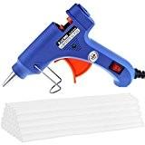 Zacro Pistolet à Colle avec 30 Colle Batonnets pour DIY Artisanat Réparations Rapides Petits Bricolages dans la Maison, Bureau (20-watt, ...
