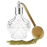 100ml Bouteille Parfum Vide en Verre Atomiseur Vaporisateur de Parfum Cadeaux Femme