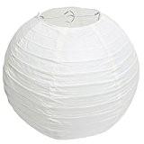 15CM Blanc chinois papier boule lanternes lampes mariage fête décoration