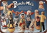 1971 punch-me Jouets Look Vintage Reproduction Plaque en métal 20,3 x 30,5 cm