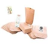 25 Petites papier sac à dos - 14 x 22 x 5,6 cm), en papier kraft pour sacs cadeau de ...