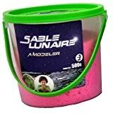 26 Diffusions - Sable lunaire - moon sand - à modeler rose 500g - 50504rose