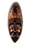 30 Cm sTATUE tRIBAL wOODEN mASK aFRICAN sculpture masque en bois décoratif motif hM3000010 figurine en bois sculpté