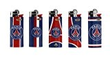 5 briquets bic mini paris saint germain