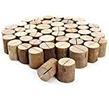 50x stand en bois support photo carte nom place numéro table 2,6x3,2cm
