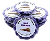 6 x Nag Champa Scented Wax Tart Melts by Black Candles Online