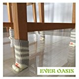 8 Chaise Chaussettes (2 paires) - Fancy Table de jambe avec Cute Cat Paws conception - meubles et sol fiable ...