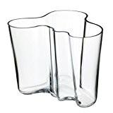 Aalto Vase Savoy, klar 160mm