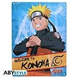 ABYstyle - ABYPLA005 - Plaque métal - Naruto Shippuden - Naruto