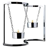 acier inoxydable ornements décoratifs ameublement de maison de chandelier