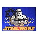 AK Sport Star Wars Stormtrooper Speelkleed Tapis de Jeu Bleu 95 x 133 cm