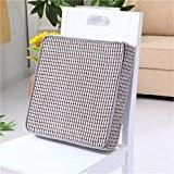 Apsoonsell carré galettes de chaise Coussinets en mousse à mémoire Coussin de chaise Bleu 40x 40cm, gris, 45 x 45 ...