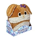 Aroma Home Peluche Coussin aux Yeux Brillant Lapin