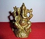 artcollectibles Inde décoratif en laiton Seigneur Ganesha Statue (Dieu) pour p?j? Religieux hindou Ganesh chaturthi Prière hindoue, cadeau Diwali