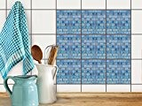Autocollant Sticker - Feuille adhésif | Carrelage Adhésif mosaique - Revêtement mural salle de bain et cuisine | Home décoration ...