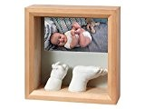 BABY ART - Cadre photo my baby sculpture miel