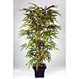 Bambou artificiel, 1215 feuilles, 180 cm - arbuste synthétique - artplants