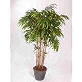 Bambou artificiel sur tige, plusieurs cannes, 1840 feuilles, 180 cm, extérieur - Arbre artificiel / Bambou décoratif - artplants