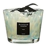 Baobab max10ps Pearls Sapphire Bougie en cire Bougie, 10x 7x 10cm