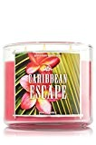 Bath and Body Works - Bougie 3 mèches Caribbean Escape Bath and Body Works