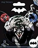 Batman Poster-Sticker Autocollant - Joker, DC Comics (12 x 10 cm)
