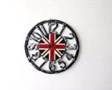 BBSLT Indicateur Nombre de pochoirs décoratifs silent wall clock Horloge murale cadre mural rétro