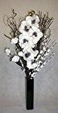 Blanc et noir vase inceramic unique Home Living contemporain, cadeau, tables de mariage