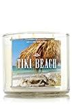 Body Works TIKI &bain plage Bougie Parfumée à 3 mèches 14 oz/411 g