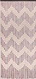 """Bois rideau de perles perles de rideau rideau de porte """"Mekong"""" à propos de 90x200cm (L x H)"""