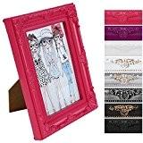 Cadre photo – rose - style baroque – 13X18cm – disponible en taille S, M, L, XL ou XXL