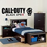 Call of Duty Black Ops 2 - Wall Decal Art Sticker boy's bedroom playroom hall (Small) by Wondrous Wall Art