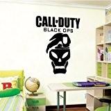 Call of Duty Black Ops - Wall Decal Art Sticker boy's bedroom playroom hall (Medium) by Wondrous Wall Art