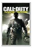 Call Of Duty Poster Guerre Infinite Tableau mémo en liège broches Argent encadrée–96,5x 66cm (environ 96,5x 66cm)