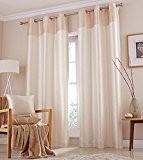 Catherine Lansfield Rideaux 100% velours/100% polyester 168 x 229cm Crème
