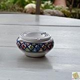 Cendrier marocain Jileni bleu - Moyen modèle