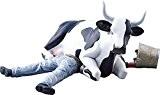 CowParade - Vache Cow Parade : Médium Cow Sitting on Man/ Ni Mu 47811