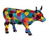 CowParade - Vache Cow parade : Médium Heartstanding Cow 47880