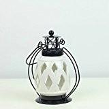 creative couleur fer chandelier ornement placage ameublement de maison vide romantique,un