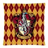 Custom Harry Potter Gryffindor Logo Throw Square Pillow Case 18x18 Inches Creative Personalized Pillowcase Bedding Pillow Slips