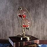 décoration de la maison Modernes ornements en métal classique accessoires pour la maison créative temps cadeau sablier processus de décoration ...