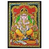 Décoration murale à suspendre Inde-Ganesh Dieu Hindou