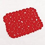 DecorLine Tapis d'Evier Protect PVC Rouge 26 x 30 x 26 cm