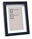 Deknudt Frames S223K2P1 Cadre Photo avec Profondeur Bois Noir 20 x 30 cm