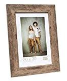 Deknudt Frames S48SH3 Cadre Photo Bois Brun 40 x 60 cm