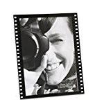 Deknudt Frames S58RJ2V Plexi Cadre Photo Motif Film Vertical Résine Noir 10 x 15 cm