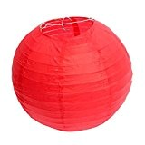 Demarkt 10pcs Lampion Papier Lanterne Papier Boule pour Décoration de Mariage Maison Fête etc