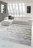 Designer Tapis contemporain Tapis en laine Heather salon ornement tapis tapis gris crème Taupe Größe 120x170 cm
