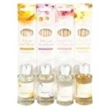 Diffuseur de Parfum avec bâtonnets-Lot de 4 senteurs assorties