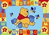 Disney pour enfant avec tapis de sol Winnie l'ourson Bleu